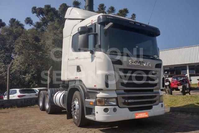 Scania R 420 6X2, ano 2011/2011  - Foto 4