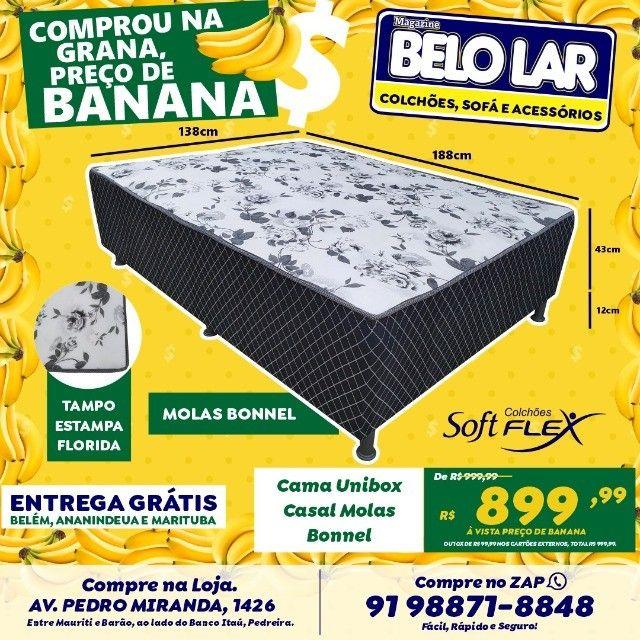 Cama Unibox Casal De Mola, Compre no zap *