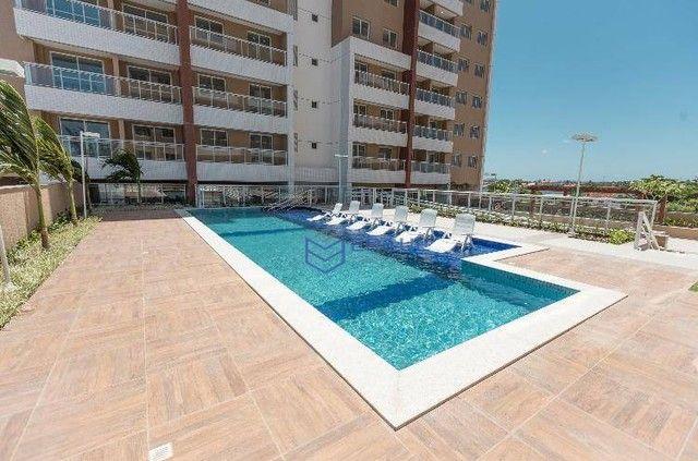 Apartamento com 2 dormitórios à venda, 57 m² por R$ 371.910,17 - Jóquei Clube - Fortaleza/ - Foto 3
