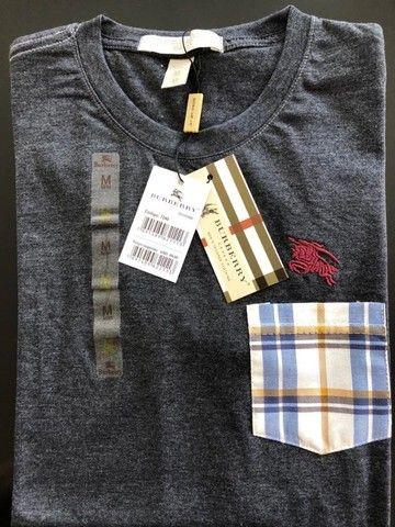 camisetas burberry atacado basicas masculinas  - Foto 6