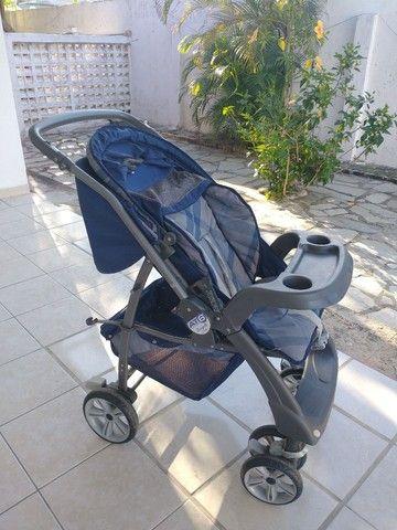 Carrinho de bebê + bebê conforto Burigotto - Foto 6