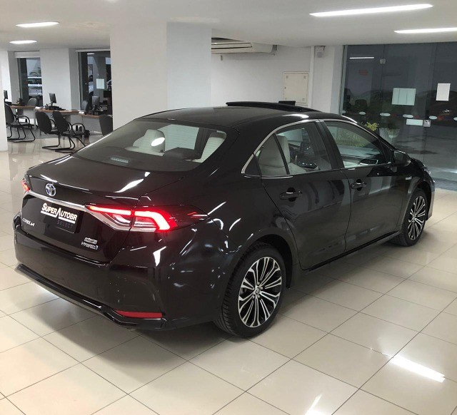 Imperdível!!! Toyota Corolla Altis Premium Hybrid 1.8AT 2021 com apenas 6 mil km! - Foto 8