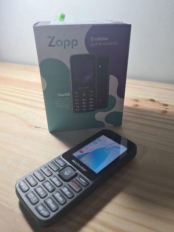 Celular Multilaser Zapp Tela 2.4 WhatsApp Conexão 3g Preto - P9098 - Foto 2