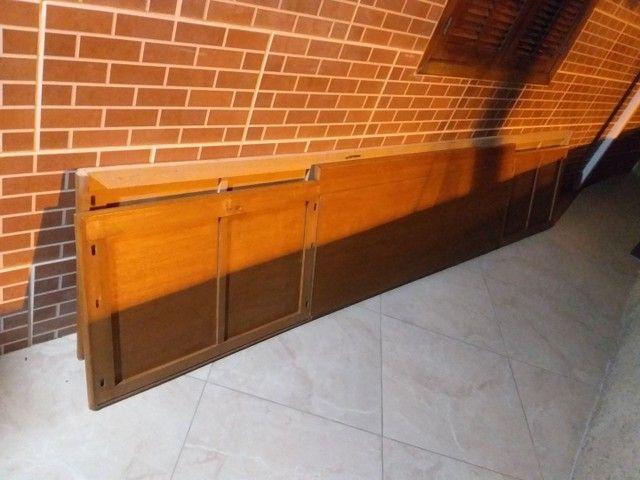 Armário de madeira maciça  - Foto 2