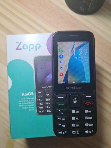 Celular Multilaser Zapp Tela 2.4 WhatsApp Conexão 3g Preto - P9098