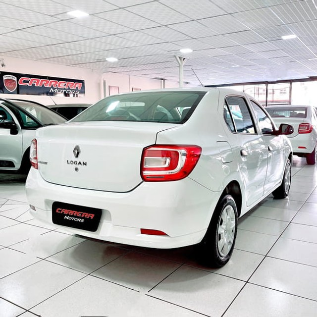 Renault Logan Authentique 1.0 12V  (Flex) - 2019 - Foto 6