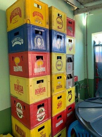 Caixas de cerveja com vasilhame - Foto 2