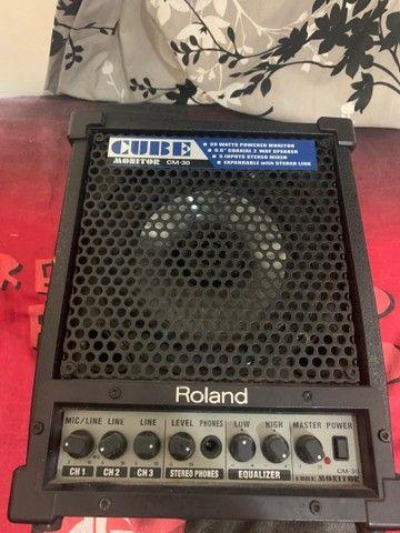 amplificador roland cube monitor