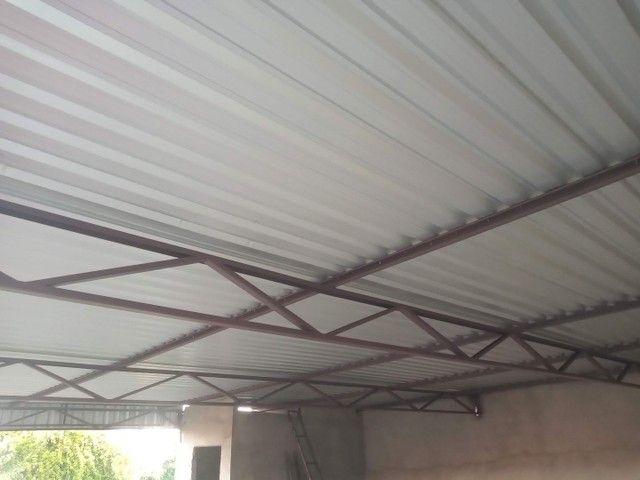 Telhados e estrutura metálica - Foto 3