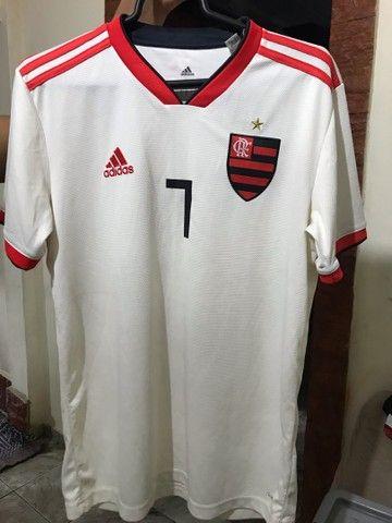 Camisa do Flamengo oficial semi usada  - Foto 2