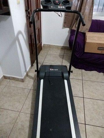 Esteira Elétrica Polimet EP 1600 dobrável - Foto 2