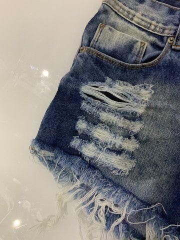 Short hot pants cintura alta - Foto 4