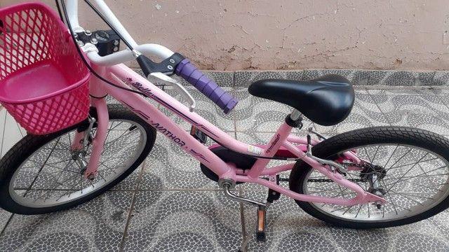 Bicicleta feminina infantil nova  - Foto 5
