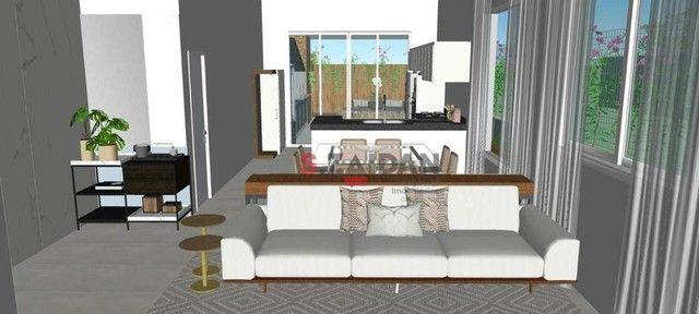 Casa com 3 dormitórios à venda, 180 m² por R$ 1.055.000,00 - Residencial Villa D?Aquila -  - Foto 6