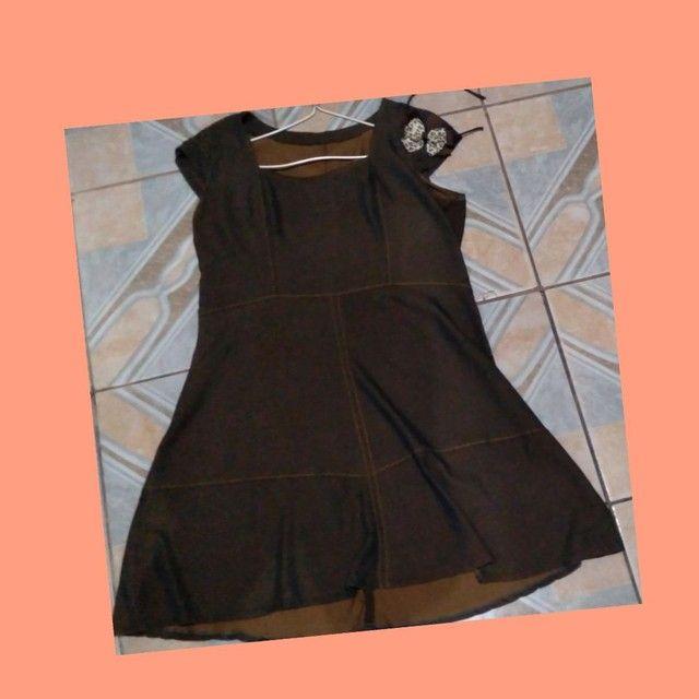 Vendo vestidos pra grávidas M e G - Foto 2