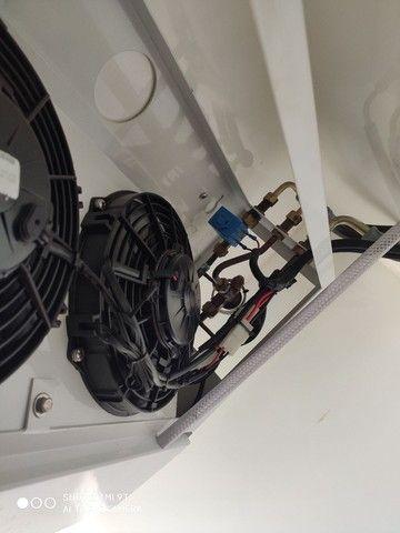 Sistema de refrigeração para Fiat Fiorino todos os modelos até 2013 gela até -5 ou -8 - Foto 5
