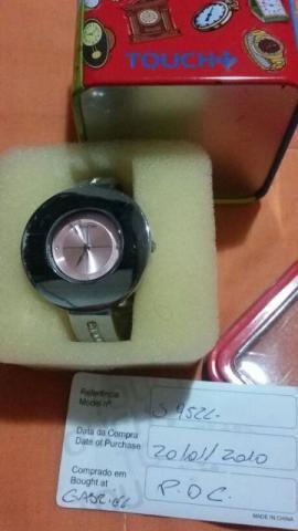 Relógio Touch lindo feminino menor preço