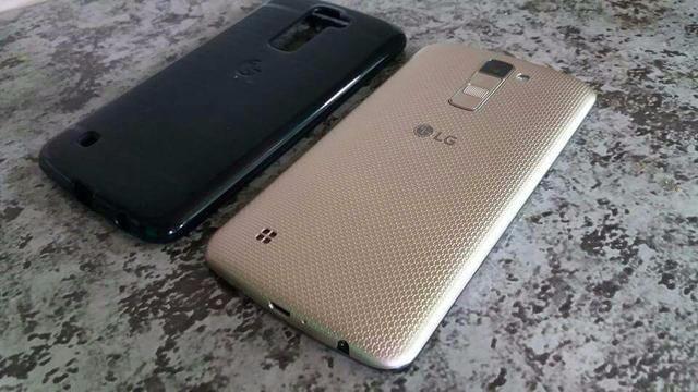 LG K10 Dorado 5 meses de uso (está na garantia ainda)