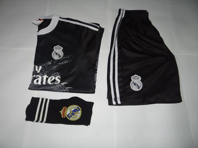 Kit Camisa Real Madrid Infantil - Artigos infantis - Campo Grande ... 241bc65a02269
