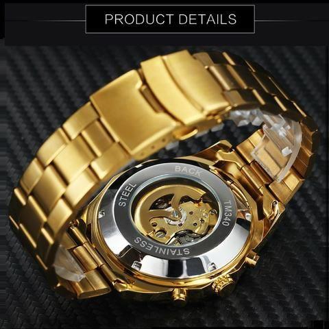 3aeeb51bc0e Lindos Relógios Importados Automáticos(não usa bateria) Winner-NOVO ...