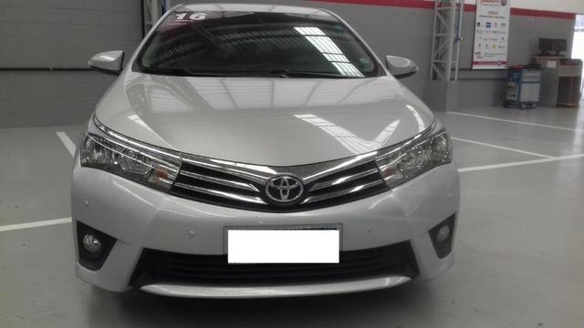 Toyota Corolla xei at muito novo, bancos de couro bege claro, um luxo de carro - Foto 2