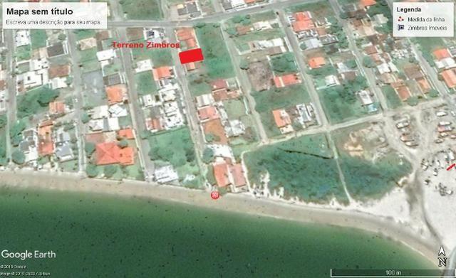 Ótimo terreno na quadra do mar da Praia de Zimbros em Bombinhas SC - Foto 4