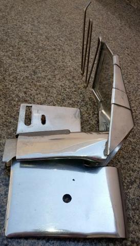 Aparelho para dobrar e costurar a tira de cós 6cm em calça, saia - Foto 3