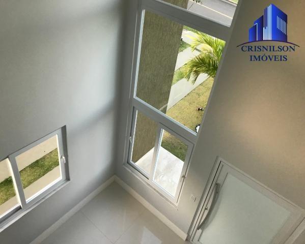 Casa à venda alphaville salvador ii, nova, r$ 2.190.000,00, piscina, espaço gourmet, área  - Foto 8