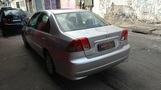 Honda Civic ex automatico 2006 + couro novinho - Foto 8