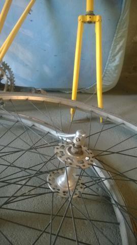 Bicicleta Caloi 10 Antiga - Aceito trocas - Foto 4