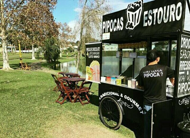 Carrinho de Pipoca Churros Food Bike - Foto 2