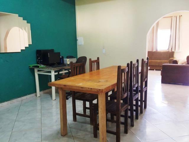 Ótima casa, toda na laje, 03 quartos! Lote de 500m² na Colônia Agrícola Samambaia - Foto 5