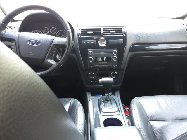Vendo Ford Fusion 2008 blindado completo cor prata + empresa - Foto 8