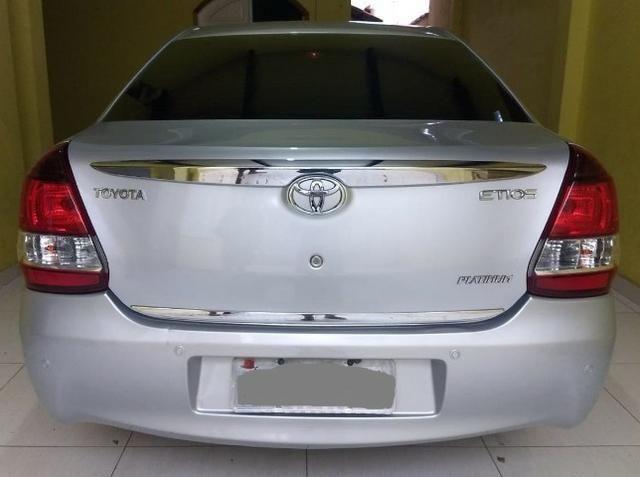O carro com 99% dos clientes satisfeito. Etios Platinum Sedan 1.5 Flex 2014-/2015 - Foto 10