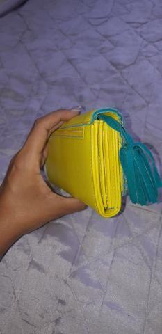 Carteira de mão feminina - Foto 6