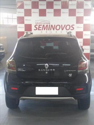 RENAULT SANDERO 1.6 STEPWAY 8V FLEX 4P AUTOMATIZADO - Foto 5