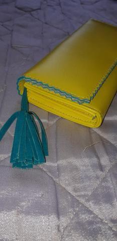 Carteira de mão feminina - Foto 3
