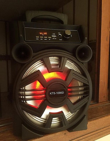 Caixa de Som KTS 1090 com Bluetooth Microfone - Foto 4