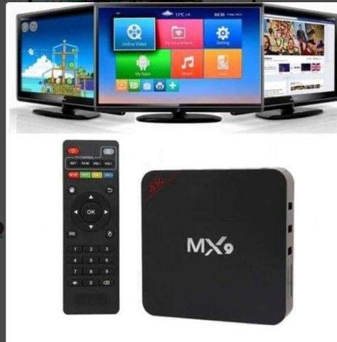Smart tv BOX MX9 4K - Foto 4