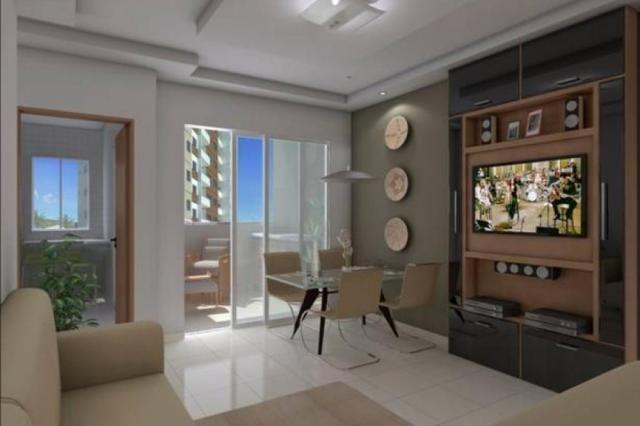 Apartamento com 2 dormitórios à venda, 59 m² por R$ 190.000 - Jardim Ipê - Goiânia/GO