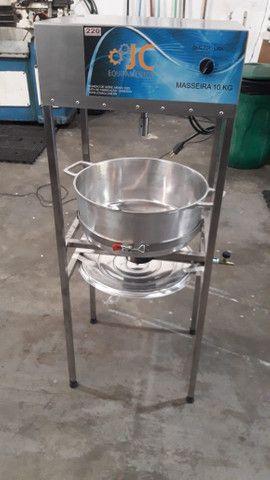 Masseira a gas para massa de salgado - Foto 2
