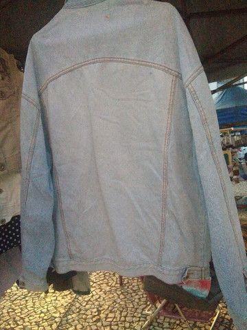 Jaqueta retro clara tamanho G - Foto 2