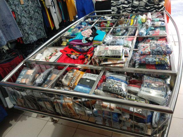 Expositor cromado para loja - Foto 2