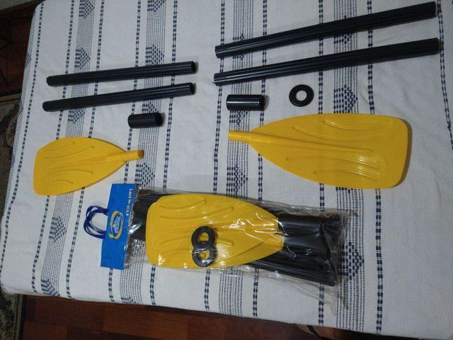 Remos para bote ou caiaque Bi Partido 122cm Intex (o par)  - Foto 4