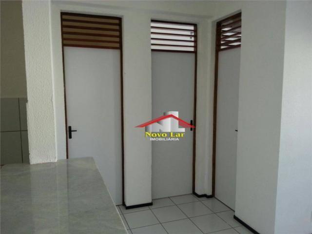 Apartamento com 2 dormitórios à venda, 51 m² por R$ 138.000,00 - Henrique Jorge - Fortalez - Foto 14