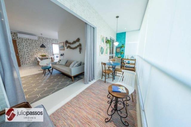 Apartamento com 2 dormitórios à venda, 73 m² por R$ 646.416,14 - Jardins - Aracaju/SE - Foto 3