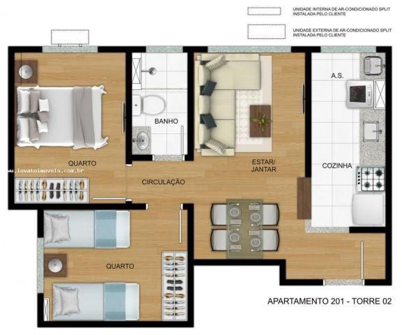 Apartamento para Venda em São Paulo, Cidade São Mateus, 2 dormitórios, 1 banheiro, 1 vaga - Foto 12