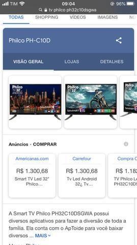Smart tv Philco 32 *ler descrição - Foto 5