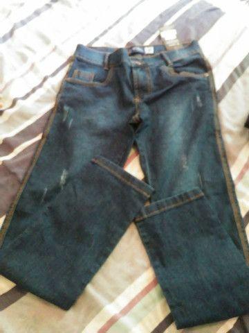 Calça jeans masculina e bermunda kids jeans - Foto 2