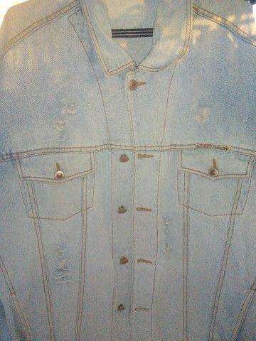 Jaqueta retro clara tamanho G - Foto 5